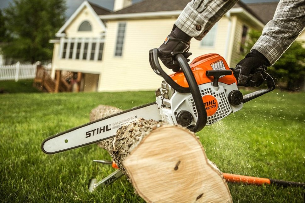 Best stihl chainsaw behr wood stain